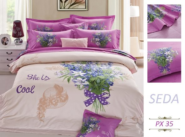 Комплект постельного белья Kingsilk SEDA PX-34-4, фото, фотография