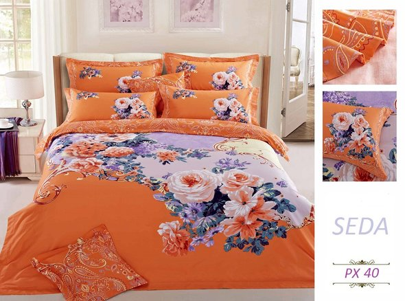 Комплект постельного белья Kingsilk SEDA PX-35-3, фото, фотография