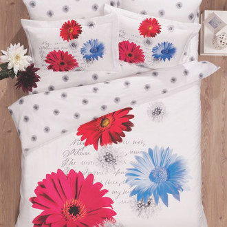 Комплект постельного белья Le Vele SPRING KRIZANTEM (Евро)