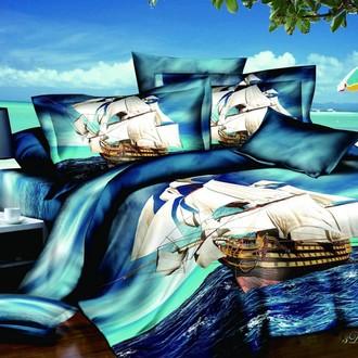 Комплект постельного белья Cleo 3D-481