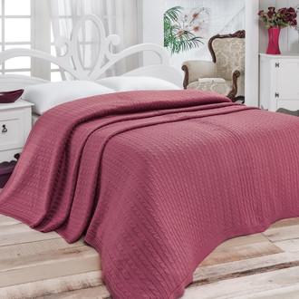 Покрывало вязаное Karna NOVA (грязно-розовый)