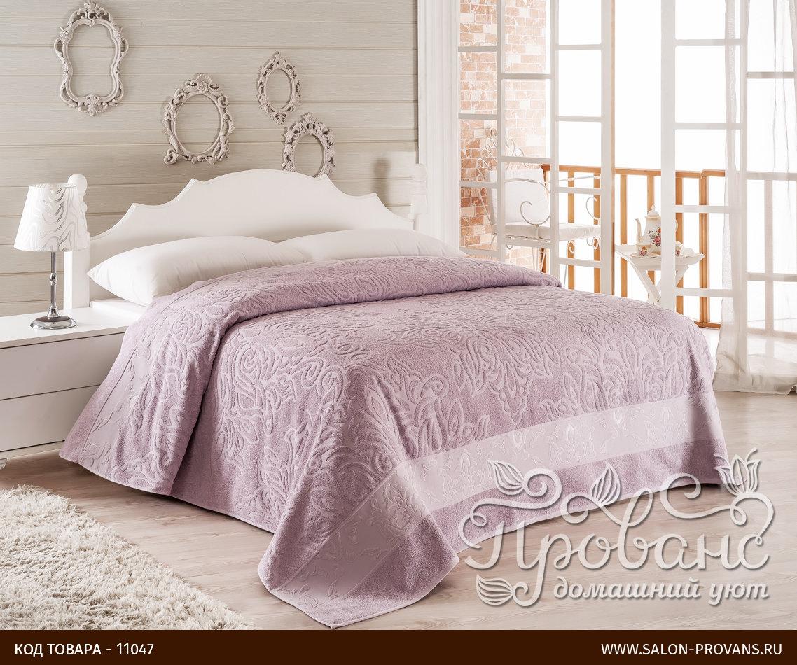 07f045d72dc9 Махровое покрывало-одеяло Modalin MEDUSA фиолетовый 160*220, фото,  фотография