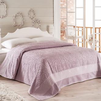 Махровое покрывало-одеяло Modalin MEDUSA фиолетовый