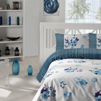 Комплект постельного белья Altinbasak CREAFORCE LONA голубой
