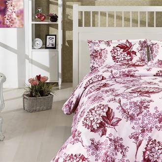 Комплект постельного белья Altinbasak CREAFORCE LUISA бордовый