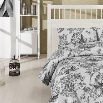 Комплект постельного белья Altinbasak CREAFORCE LUISA серый