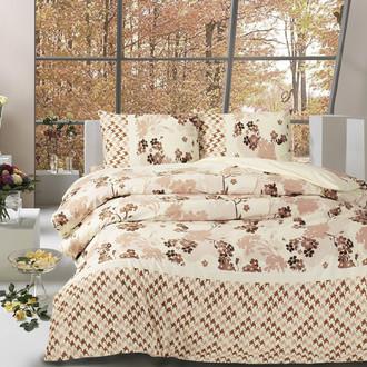 Комплект постельного белья Altinbasak CREAFORCE APRIL коричневый