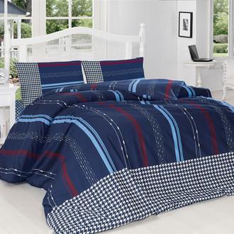 Комплект постельного белья Altinbasak CREAFORCE GRIS синий