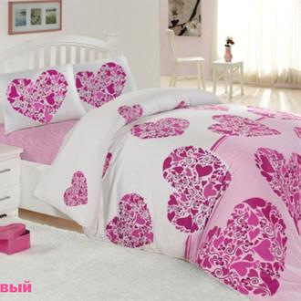 Комплект постельного белья Altinbasak CREAFORCE CANDY розовый