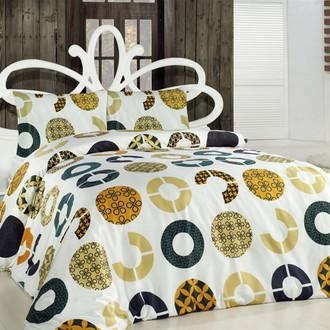 Комплект постельного белья Altinbasak CREAFORCE MIA жёлтый