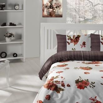 Комплект постельного белья Altinbasak CREAFORCE LONA коричневый