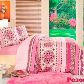Комплект постельного белья Altinbasak CREAFORCE DANTE розовый