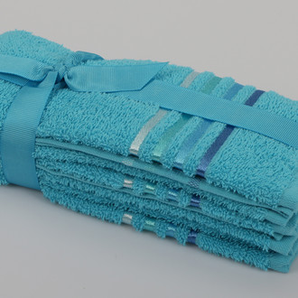 Набор полотенец Karna BALE 30 х 50 см (3 шт.) бирюзовый