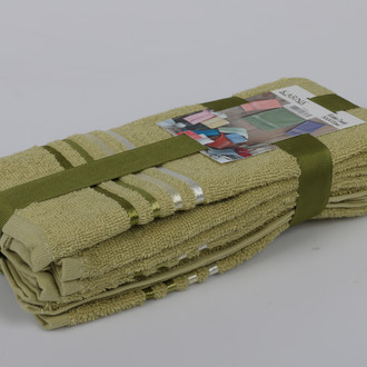 Набор полотенец Karna BALE 30 х 50 см (3 шт.) зелёный