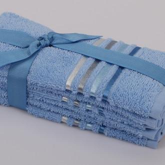 Набор полотенец Karna BALE 30 х 50 см (3 шт.) голубой