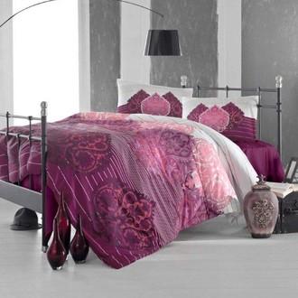 Комплект постельного белья Altinbasak LEYAN бордовый