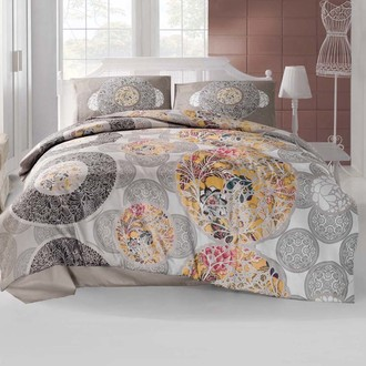 Комплект постельного белья Altinbasak IZEM коричневый