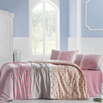 Комплект постельного белья Altinbasak ALEDA розовый