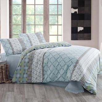 Комплект постельного белья Altinbasak CREAFORCE SANTANA голубой