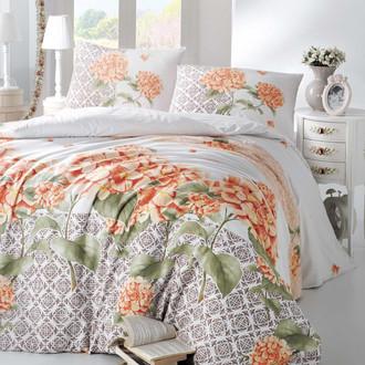 Комплект постельного белья Altinbasak CREAFORCE LARIN оранжевый