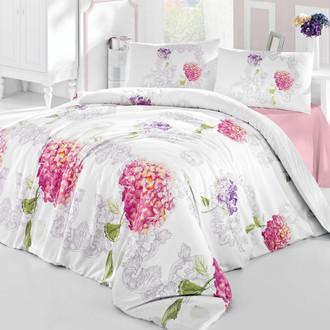 Комплект постельного белья Altinbasak CREAFORCE HIDRA розовый