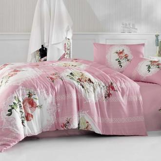 Комплект постельного белья Altinbasak CREAFORCE ULYA розовый