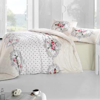 Комплект постельного белья Altinbasak CREAFORCE MIRA кремовый