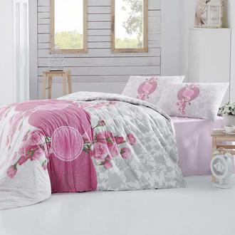 Комплект постельного белья Altinbasak CREAFORCE ROSEN розовый