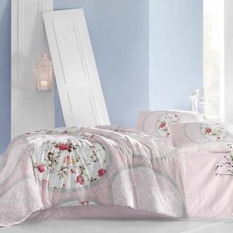 Комплект постельного белья Altinbasak CREAFORCE PERLITA розовый