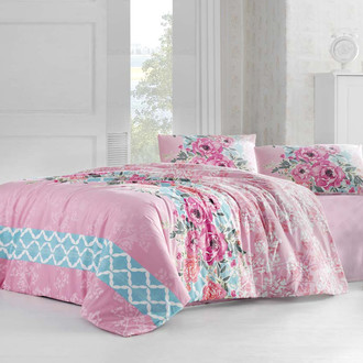 Комплект постельного белья Altinbasak ASEL розовый