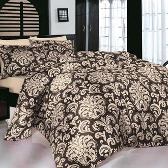 Комплект постельного белья Altinbasak ERA Сатин коричневый