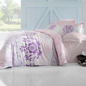 Комплект постельного белья Altinbasak ILMA Сатин розовый