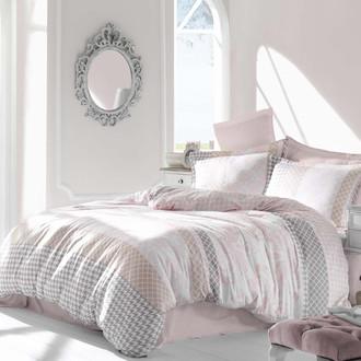 Комплект постельного белья Altinbasak RISHA Сатин розовый