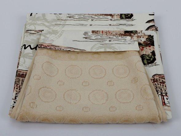 Фартук Karna с полотенцем бежевый, фото, фотография