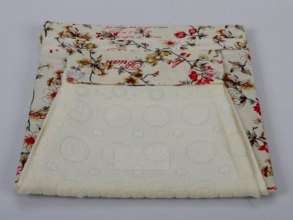 Фартук Karna с полотенцем кремовый, фото, фотография