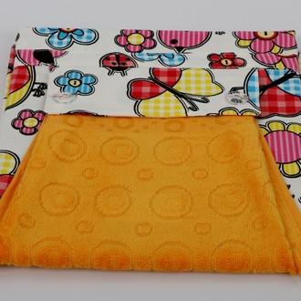 Фартук Karna с полотенцем жёлтый