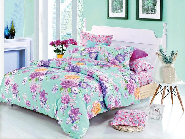 Комплект постельного белья Cleo SP-147 семейный, фото, фотография