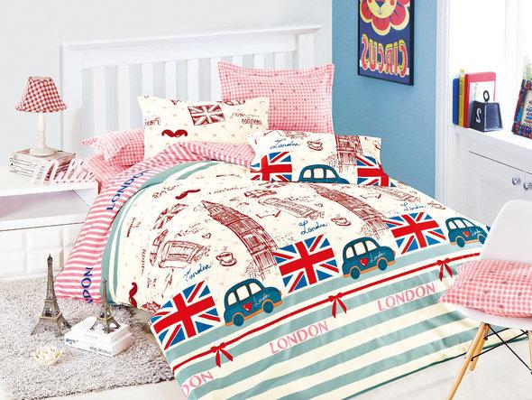 Комплект постельного белья Cleo SP-148 2-х спальный, фото, фотография
