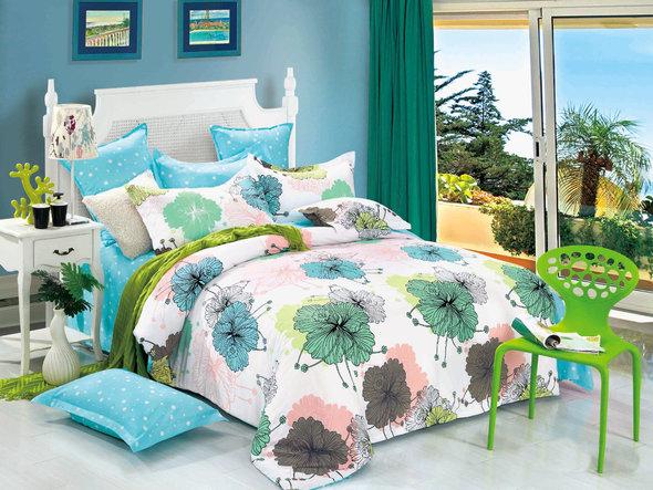 Комплект постельного белья Cleo SP-149 семейный, фото, фотография