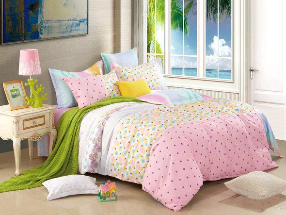 Комплект постельного белья Cleo SP-151 евро, фото, фотография