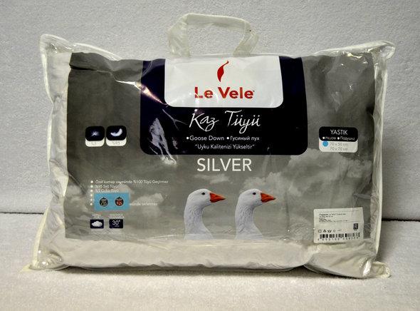 Подушка Le Vele SILVER 50х70 50 х 70 см (1 шт.), фото, фотография