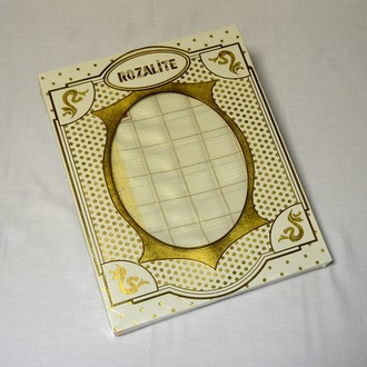 Скатерть Verolli ROZALIT 160х220 кремовый