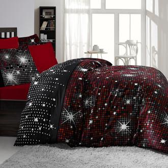 Комплект постельного белья Altinbasak PIRILTI красный