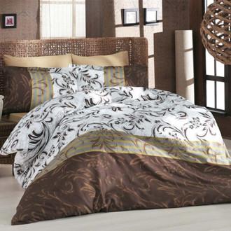 Комплект постельного белья Altinbasak REBECCA коричневый