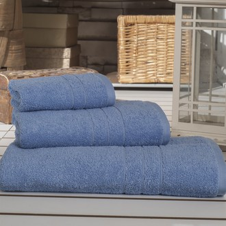 Набор полотенец Karna ARES голубой