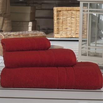 Набор полотенец Karna ARES красный