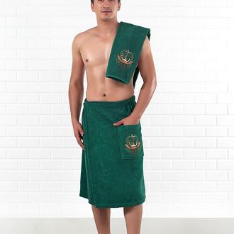 Набор для сауны Karna MORYAK зелёный