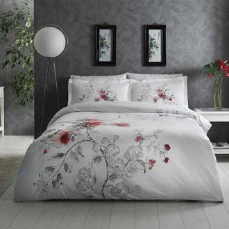 Комплект постельного белья TAC SATIN DELUX LUVIA белый