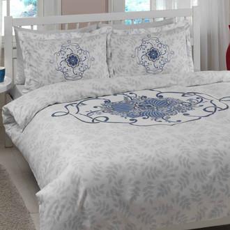 Комплект постельного белья TAC SATIN ALISSA голубой