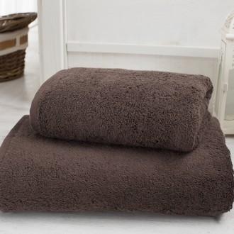 Полотенце для ванной Karna EFES микрокоттон (коричневый)